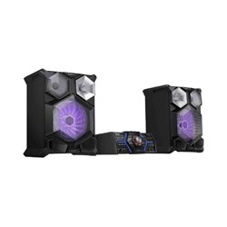 Samsung - MXJS8000 - 2400w Giga System, FM/CD, 3D Beat Lighting