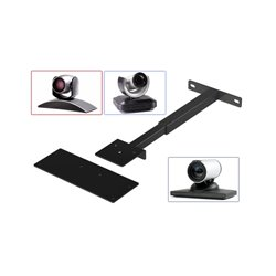 AVFI - PM-CAM - VFI PM-CAM Mounting Arm for Video Conferencing Camera - Steel - Black