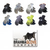 Brahma Gloves - WA3883A - Brahma Gloves Gray Large Split Cowhide Leather Driver's Gloves - Straight Thumb - WA3883A