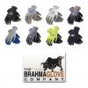 Brahma Gloves - WA8303A - Brahma Gloves WA83 Blue Medium Seamless Knit Work Gloves - Latex Palm Only Coating - Smooth Finish - WA8303A