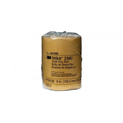 3M - 60010021271 - Stikit Gold Disc Roll, 6 inch, P150 grit