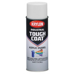 Krylon - A01470007 - Tough Coat Rust Preventative Spray Paint in Gloss Green for Metal, Steel, 12 oz.