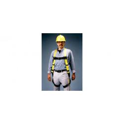Honeywell - 850-7/UYK - Miller 850 Yellow Universal Vest-Style Body Harness - Polyester Webbing - 612230-02914