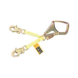 DBI / Sala - 1231389-EA - DBI-SALA Yellow Polyester Webbing Lanyard - 18 in Length - 840779-01076