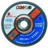 "CGW Abrasives - 45002 - 4-1/2"".045x7/8"" T27 Za60-s-bf Quickie C.o. Whl"
