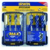 IRWIN Industrial Tool - 3041006 - 6-Piece Speed Boring Set: 1/2-Inch to 1-1/4-Inch