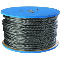 Peerless - 4501190 - 1/8 7x7 Galv Wire Rope 500 Ft