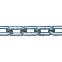 "Peerless - 5011434 - 200 ft. Grade 30 Straight Chain, 3/8"" Trade Size, 2650 lb. Working Load Limit, For Lifting: No"