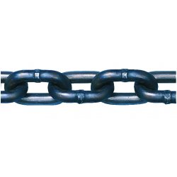 "Peerless - 5031214 - 400 ft. Grade 43 Straight Chain, 1/4"" Trade Size, 2600 lb. Working Load Limit, For Lifting: No"
