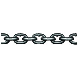 "Peerless - 5050423 - 500 ft. Grade 80 Straight Chain, 3/8"" Trade Size, 7100 lb. Working Load Limit, For Lifting: Yes"