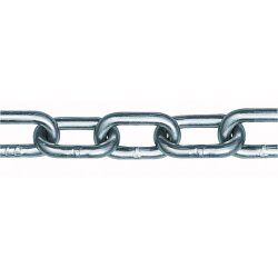 Peerless - 6015032 - 100 ft. Straight Chain, 5/0 Trade Size, 925 lb. Working Load Limit, For Lifting: No