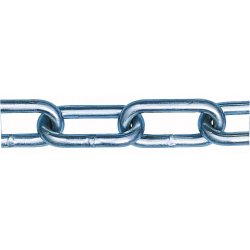 Peerless - 6045032 - 100 ft. Straight Chain, Not For Lifting, 5/0 Trade Size, 880 lb. Working Load Limit