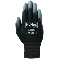 Ansell-Edmont - 11-600-7-BK - 205651 7 Hyflex Ultra Lightweight Assembly Glove
