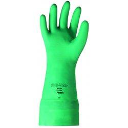 """Ansell-Edmont - 37-165-8 - Solvex 37-165 Green 22 Mil Nitr 14.75"""" Sz 8"""