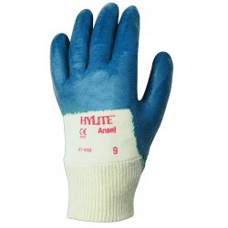 Ansell-Edmont - 47-400-8 - Hylite 47-400 Med Weightnitrile Palm Coat Sz 8