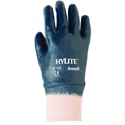 Ansell-Edmont - 47-402-9 - 205943 9 Hylite-medium Weight Nitrile Coated