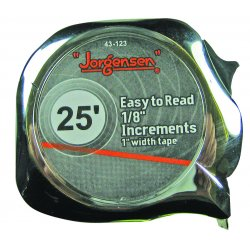 Jorgensen - 43-132 - Easy to Read Tape Measures (Each)