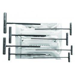 """Allen Tool - 56161 - 780w 8pc 6""""t-handle Allen Wrench Set 3/32""""-1/4"""""""