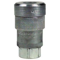 """Alemite - 307112 - 1/4""""nptf(f) Quick-detach, Ea"""