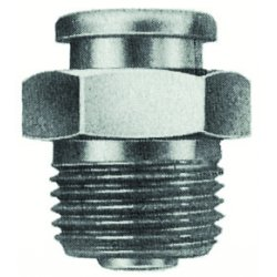 "Alemite - A1188 - 3/8""ptf(m) Button Head F, Ea"