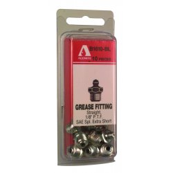 "Alemite - B1610-BL - 1/8"" Pft Grease Fitting, Ea"