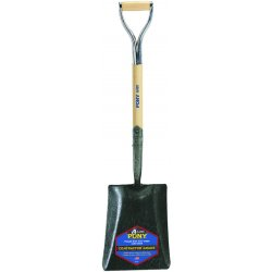 "Jackson Professional Tools - 1248800 - Square Point Shovel W/27"" Armor D-handle &"