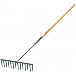 "Jackson Professional Tools - 1887000 - 16-1/2"" Heavy Asphalt Rake 14-teeth"