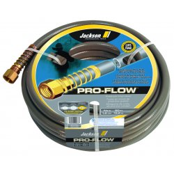 "Jackson Professional Tools - 4003700 - 5/8""x75' Pro-flow Commercial Duty Gray Hose"