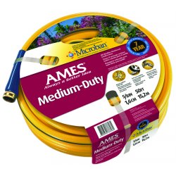 "Jackson Professional Tools - 4008100A - 5/8"" X 50' Yellow All Weather Hose Crushproof Cp"