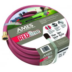 "Jackson Professional Tools - 4009100A - 3/4"" X 100' Commercial Duty Red Hose"