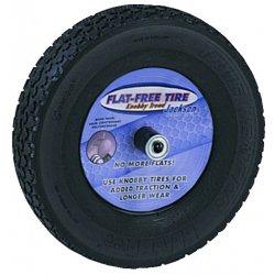 "Jackson Professional Tools - FFTKBCC - Jackson Knobby Flat Freetire (mounted On 8"" Whl)"