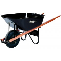 Jackson Professional Tools - J6K - 6cu.ft. Steel Tray Contractor Wheelbarrow