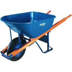 Ames True Temper - MP575FFBB - 5.75 Cu Ft Poly Wheelbarrow W/flat Free Tires