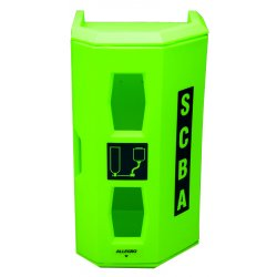 Allegro - 4150 - SCBA Wall Case, Hi Viz Green, Linear LDPE