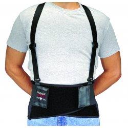 Allegro - 7160-01 - Small Black Bodybelt Back Support W/non-remov