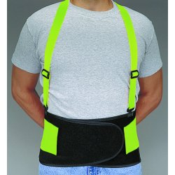 Allegro - 7178-03 - Econ. Hi-viz Back Support Belt - Large