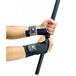 Allegro - 7212-03 - Large Dual-flex Wrist Support Black, Ea