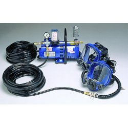 Allegro - 9200-02 - Allegro Low Pressure Full Face Mask Supplied Air System (Includes (1) Full Mask, (1) Ambient Air Pump And 50' Hose)