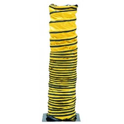 "Allegro - 9500-15 - 15 ft. Blower Ducting with 8"" Dia., Black/Yellow&#x3b; Use With Blower"