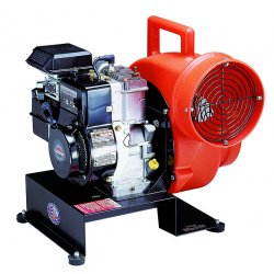 "Allegro - 9505 - Allegro Briggs And Stratton 19"" X 20"" X 21 1/2"" 2000 - 3000 cfm 5.7 hp 4-Stroke Motor Polyethylene Gas Blower With 6 ft Inlet Hose Extension"
