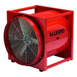 Allegro - 9515 - Portable Blower Standard Electric 1/2 Horse Power 3400 Cubic Feet Per Minute 115 Volt(s) 26x23x29 Allegro 50 Pound, Ea