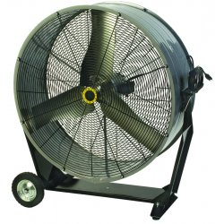 "Airmaster - 60471 - Airmaster Mancooler 60471 Portable Fan - 36"" Diameter - 2 Speed - Direct Drive, Adjustable Tilt Head, Pull Chain Switch"