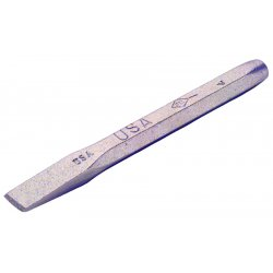 "Ampco Safety Tools - C-12B - 1/4""x5 5/16"" Hand Cold Chisel, Ea"