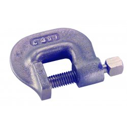 "Ampco Safety Tools - C-30-6 - 4-1/2"" Heavy Duty C-clamp 3"" Depth, Ea"