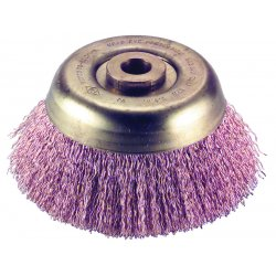 Ampco Safety Tools - CB-45 - Nonsparking Crimped Wire Cup Brush, 4 In.
