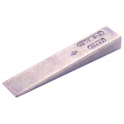 """Ampco Safety Tools - W-10 - Ampco Safety Tools 1 1/4"""" X 8 1/2"""" X 2"""" Aluminum Bronze Copper Alloy Flange Wedge"""