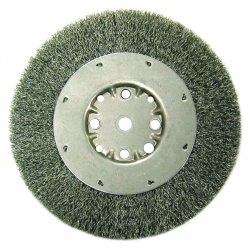 "Anderson Brush - 01524 - Dmx6 .008 Crimped Wire Wheel 5/8-1/2"" Ar"