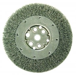 "Anderson Brush - 03013 - Dm3s .006/ss Crimped Wire Wheel 1/2-3/"" Arb"