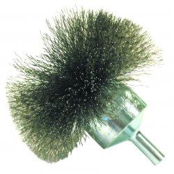 """Anderson Brush - 05861 - Nf14 1-1/2"""" .006 Carbonend Brush Circular Fl"""