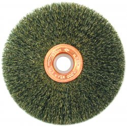 "Anderson Brush - 09393 - 2-1/2""dia. Single Section Crimped Wire Wheel"